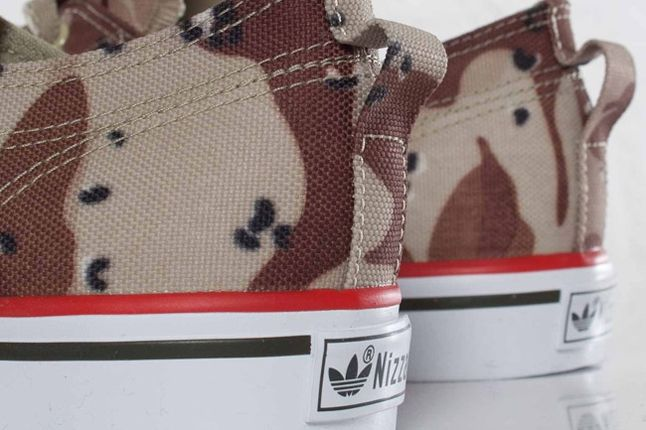 Adidas Nizza Classic78 Desert Camo Heel Detail 1