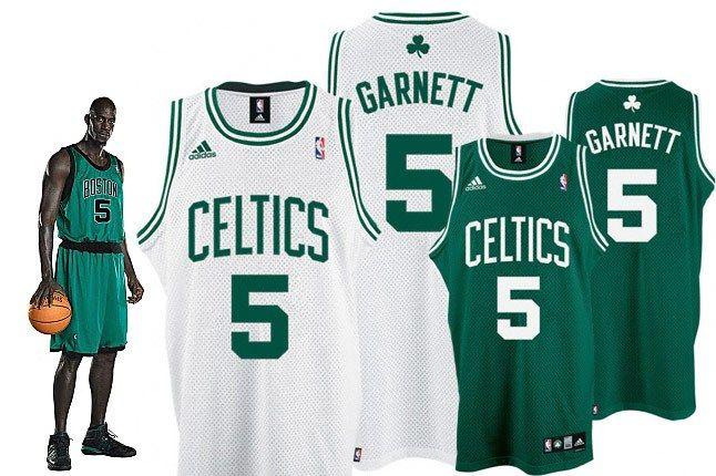 Nba Jersey Garnett 1
