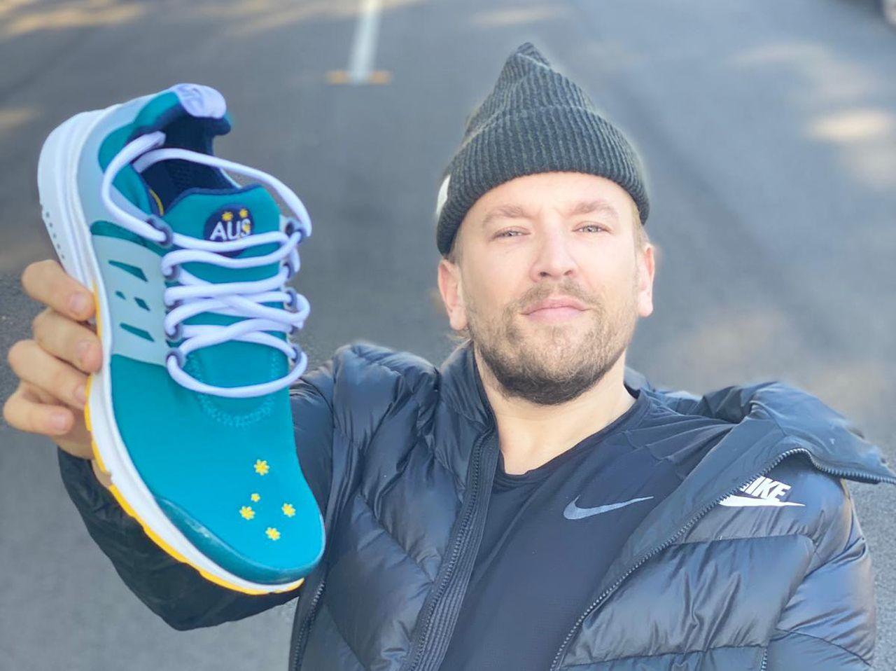 Dylan Alcott Nike Air Presto Australian Olympic