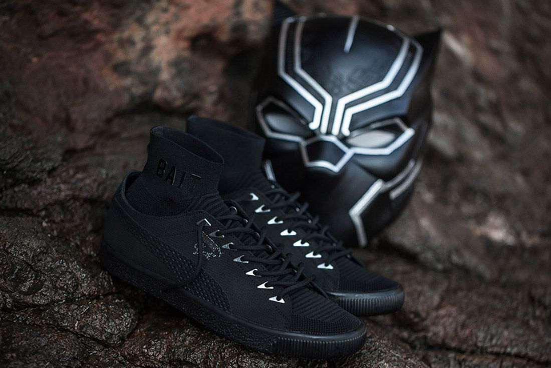 Bait Black Panther Puma Clyde Sock 8