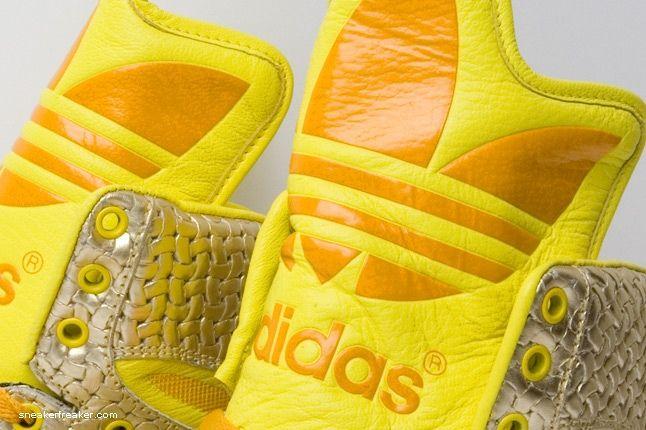 Adidas Js Logo Metro Gold 5 1