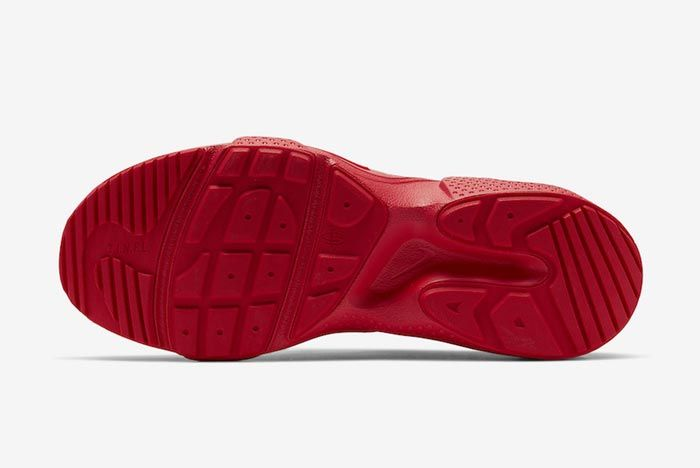 Nike Huarache Edge Txt University Red Outsole