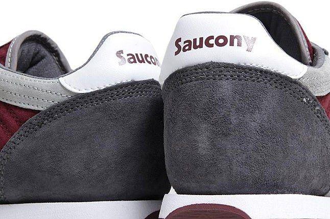 Saucony Jazz Heel Burgudy 1