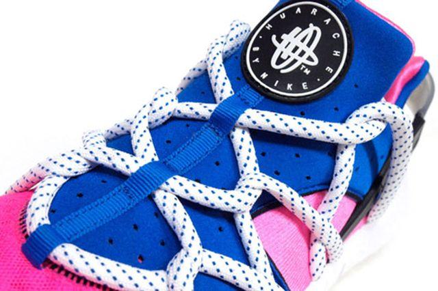 Nike Air Huarache Nm Royal Blue Pink Flash 5