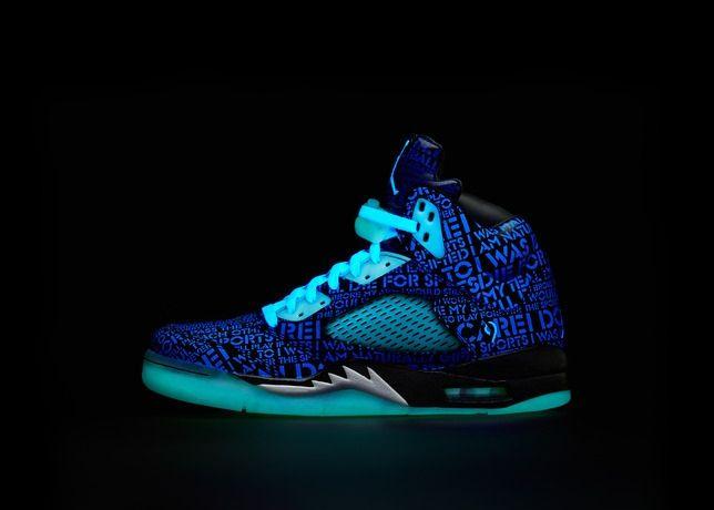 Air Jordan 5 (Doernbecher Glow