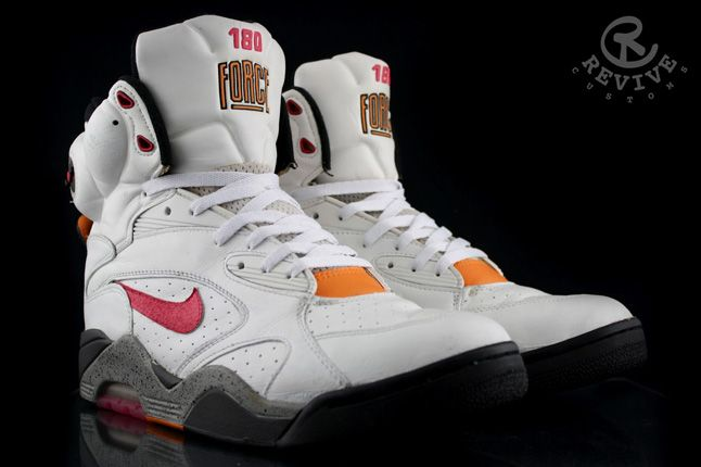 Nike Air Force 180 Pump Sunrise Revive Custom 01 1