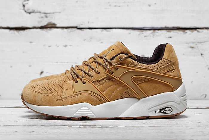 Puma Blaze Of Glory Winterised Tan Brown 1