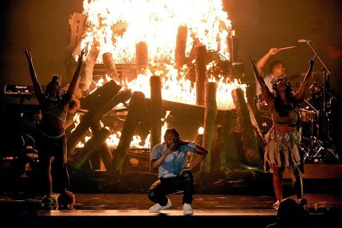 Reebok Kendrick Lamar Grammy 4