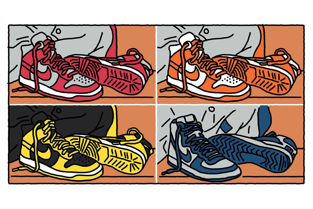 15 Th Annuversary Visual History Nike Sb Dunk 13