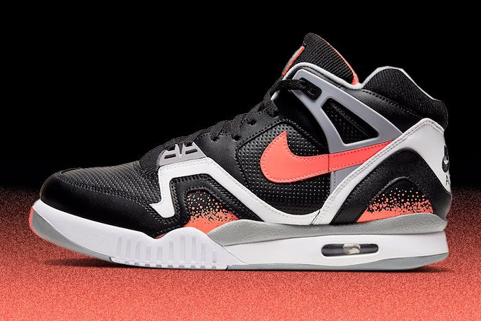 Nike Air Tech Challenge 2 Black Lava Cq0936 001 Lateral