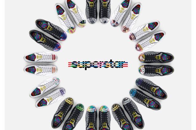 Adidas Originals Pharrell Williams Introduce Supershell Groupshot