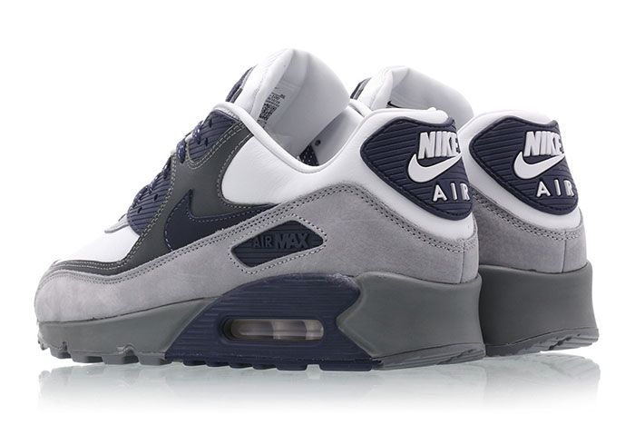 Nike Air Max 90 Escape Lahar Blue Grey Heel