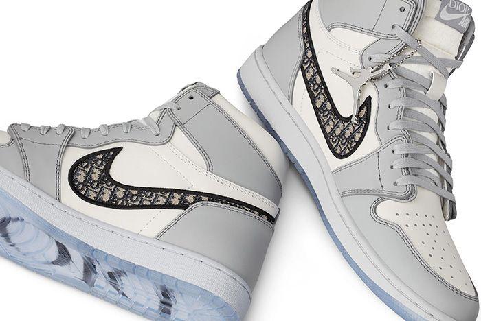 Dior Air Jordan 1 Air Dior Official Nike Images Medial Detail