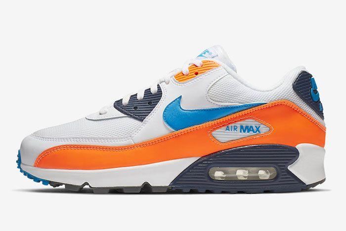Nike Air Max 1 Total Orange Left