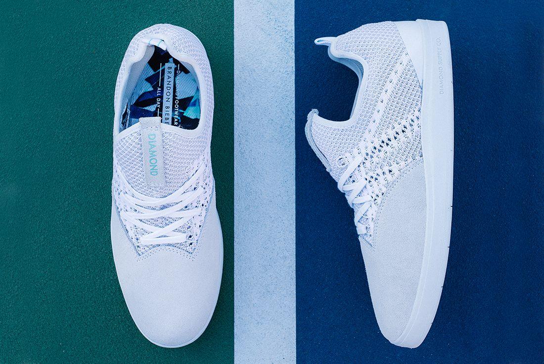 Diamond Supply Co All Day White On White 7 1
