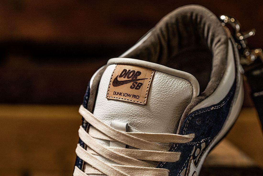 BespokeIND Nike Air Jordan 1 SB Dunk Dior Tongue