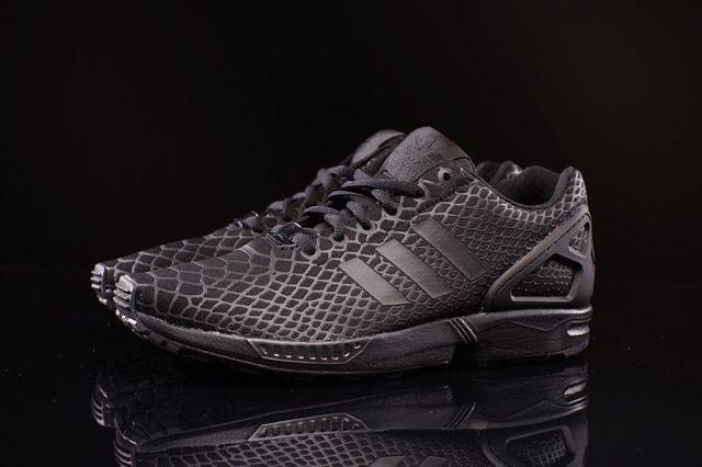 Adidas Zx Flux Techfit Black Snake 1