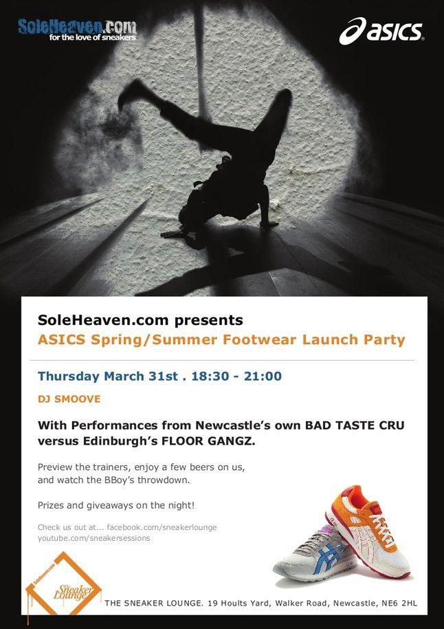 Asics Soleheaven Launch Party 1