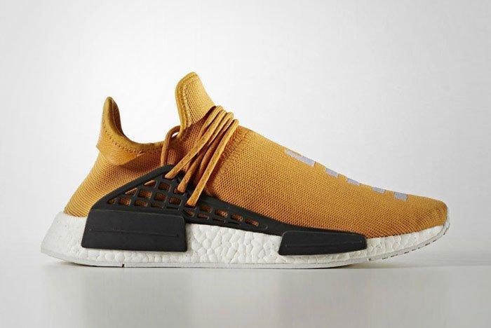 Pharrell Williams Adidas Hu Nmd Tangerine Thumb