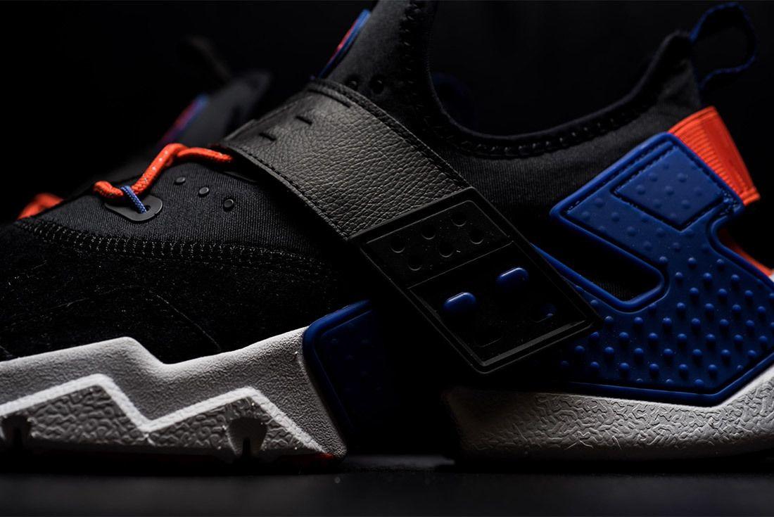 Nike Air Huarache Drift Premium Black Rush Violet Rush Orange Ah7335 002 Sneaker Freaker 3