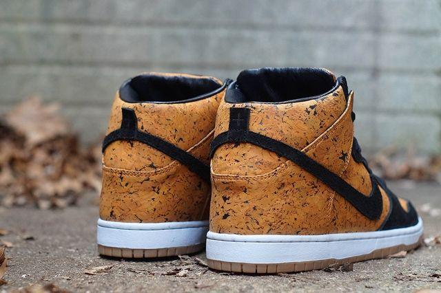 Nike Sb Dunk High Custom By Jbf Customs Cork 2