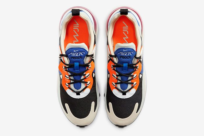 Nike Air Max 270 React Fossil Hyper Royal Pistachio Frost Ci3899 200 Top