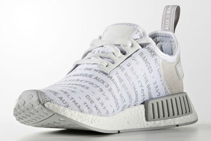 Adidas Nmd Brand With The 3 Stripes White 1