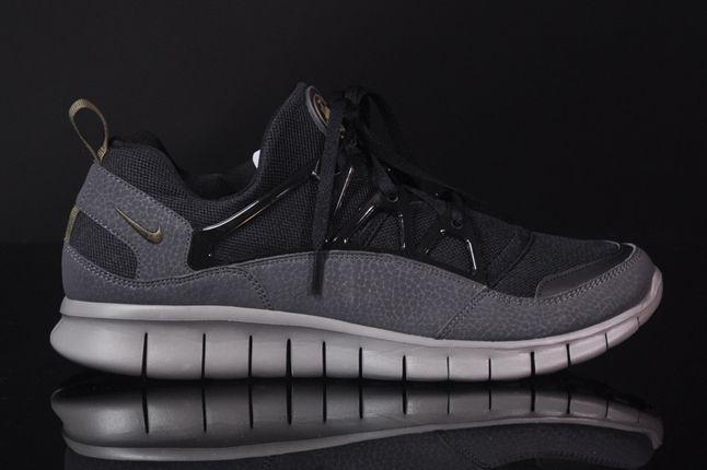 Nike Free Hua Light Scwarz Grau Profile 1