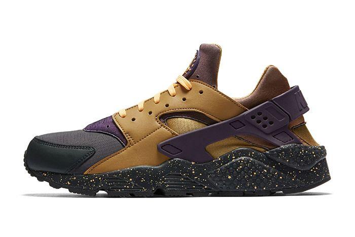 Nike Air Huarache Premium Brown Purple 3