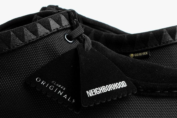 Neighborhood Clarks Wallabee Tag Detail