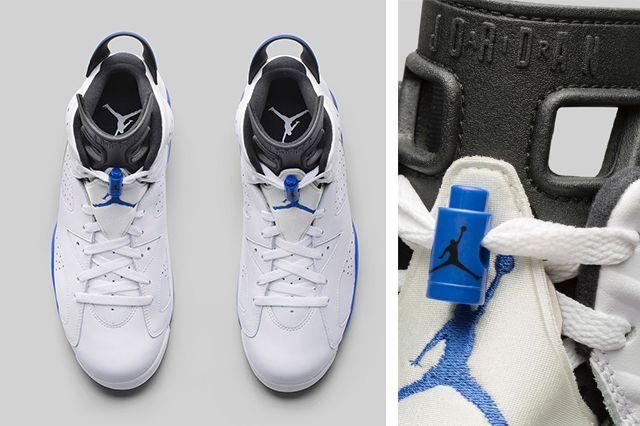 Air Jordan 6 Sport Blue 3