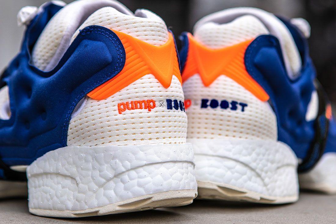 Reebok Adidas Instapump Fury Boost Prototype Sneaker Freaker Heel1