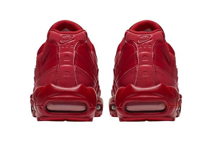 Nike Air Max 95 Triple Red Bq9969 600 Release Date Heel