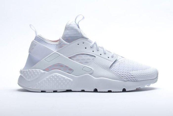 Nike Air Huarache Ultra Br Triple White 1