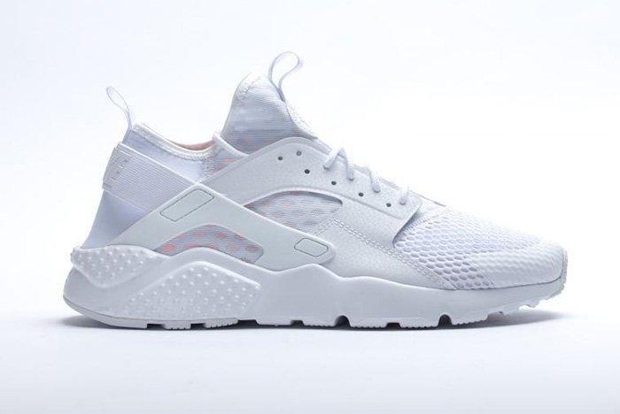 Nike Air Huarache Ultra Br Triple White 1