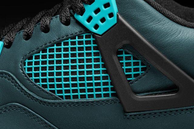 Air Jordan 4 Teal Teaser 5