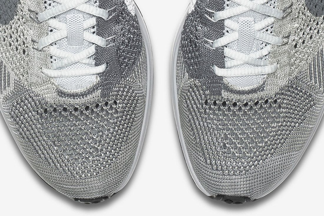 Nike Flyknit Racer Pure Platinum 7