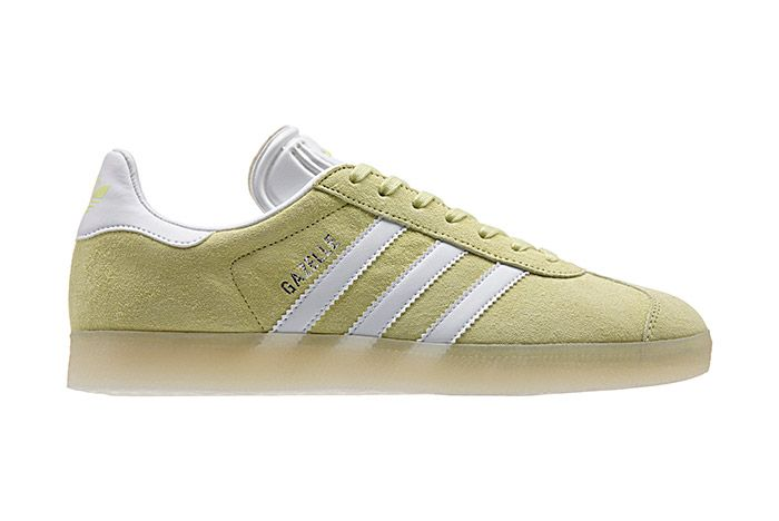 Adidas Gazelle Leather Iced Pack Iced Yellow 2