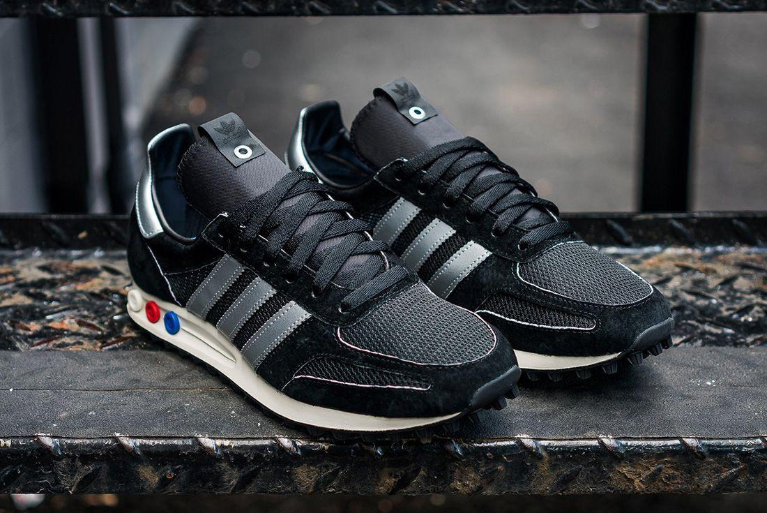 Adidas Consortium La Trainer Og Mig Black Silver16