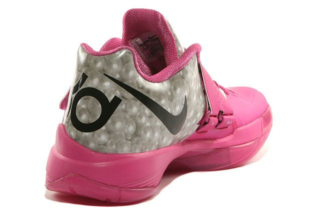 Nike Kd4 Aunt Pearl Think Pink 05 1
