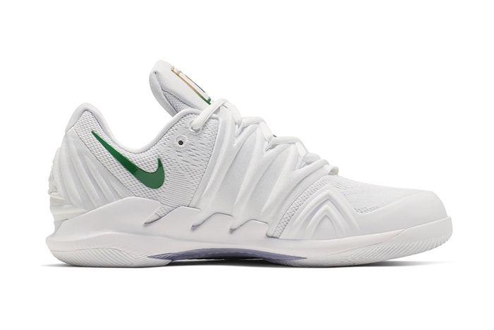 Nike Vapor X Kyrie 5 Wimbledon Release Date Medial