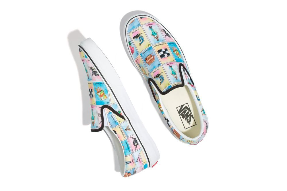 Vans Lotería Slip-On Top