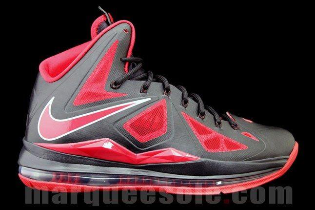 Nike Lebron X Bred 1