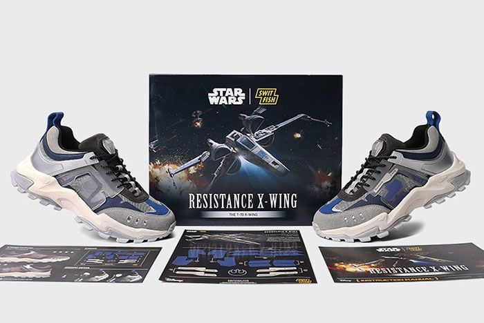 Star Wars X Switfish X Wing Collaboration Motive Side7