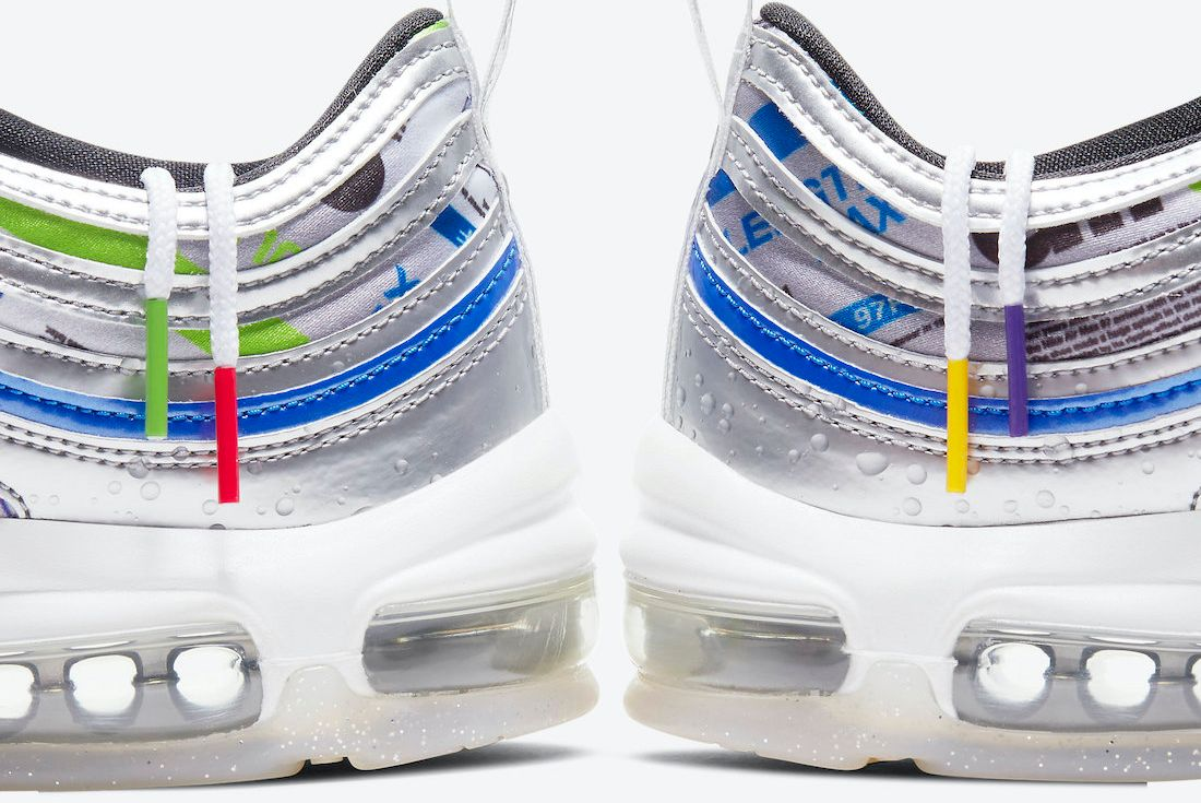 Nike Air Max 97 'Energy Jelly' official images on white