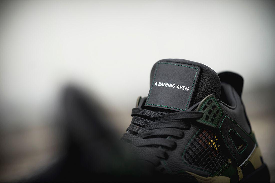 Bespoke Ind Air Jordan 4 Bape 12