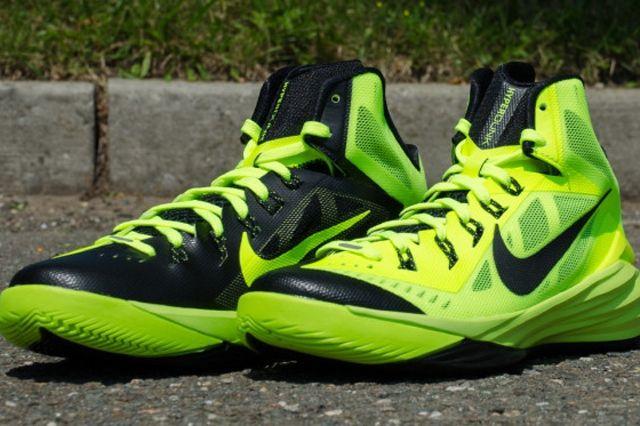 Nike Hyperdunk 2014 Volt Black 5