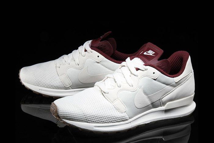 Nike Air Berwuda Premium White Maroon 6