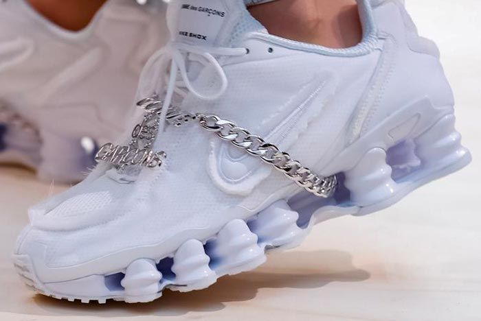 Nike Comme Des Garcon Shox 2