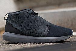 Roshe Run Sneaker Black Safari Thumb